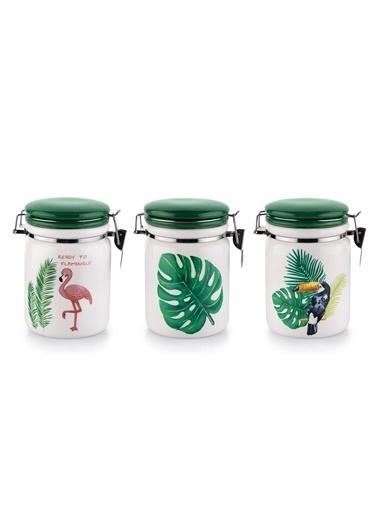 6 Parça Tropical Kelepçeli Saklama Kabı-Schafer